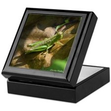 Grasshopper Keepsake Box
