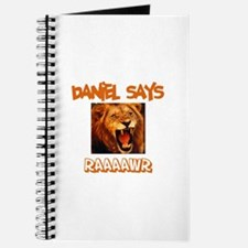 Daniel Says Raaawr (Lion) Journal