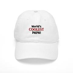 World's Coolest Papa! Cap