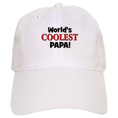 World's Coolest Papa! Baseball Cap