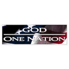 One Nation Under God,Bumper Sticker