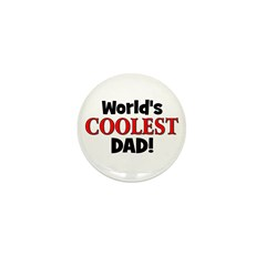 World's Coolest Dad! Mini Button