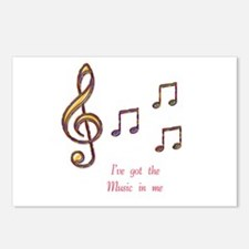 Music In Me Postcards (Package of 8)