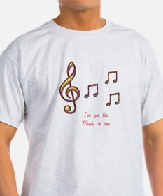 Music In Me T-Shirt