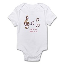 Music In Me Infant Bodysuit