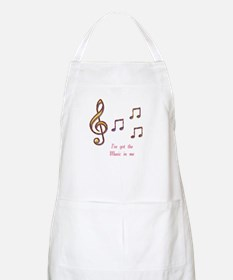 Music In Me BBQ Apron