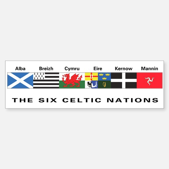 Celtic Nations Bumper Bumper Bumper Sticker