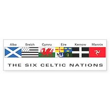 Celtic Nations Bumper Bumper Stickers