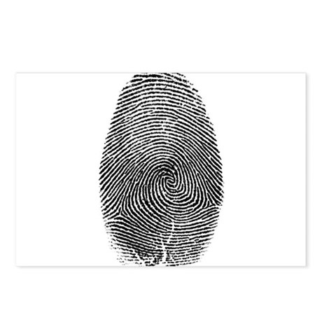 Fingerprint Postcards (Package of 8)