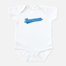 Retro Bowman (Blue) Infant Bodysuit