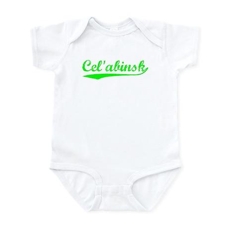 Vintage Cel'abinsk (Green) Infant Bodysuit