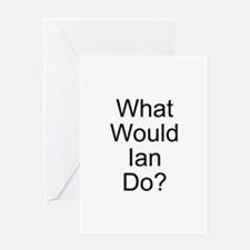 Ian Greeting Card