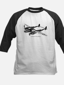 P-38 Lightning Kids Baseball Jersey