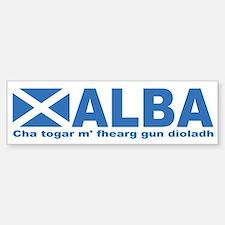 Alba Bumper Bumper Bumper Sticker