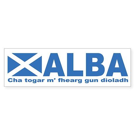 Alba Bumper Sticker