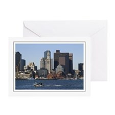 Downtown Boat Greeting Cards (Pk of 10)