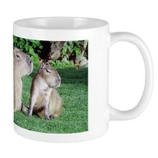 Capybara Mom and Son Mug