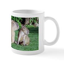 Capybara Mom and Son Mug