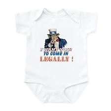 LEGALLY Infant Bodysuit