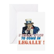 LEGALLY Greeting Card