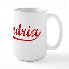 Vintage Alexandria (Red) Mug