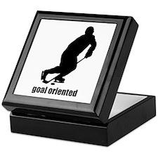 Goal Oriented Hockey Keepsake Box