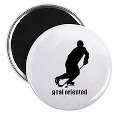 Goal Oriented Hockey Magnet