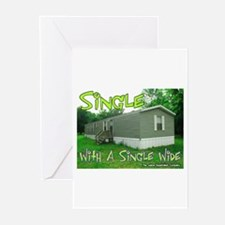 Single With a Single Wide Greeting Cards (Package