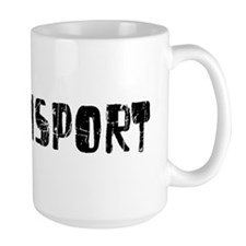 Williamsport Faded (Black) Mug