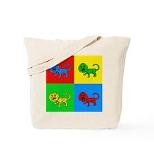 Pop Art Liger Tote Bag