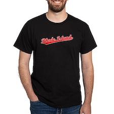 Retro Rhode Island (Red) T-Shirt