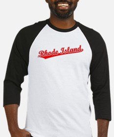 Retro Rhode Island (Red) Baseball Jersey