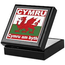 Cymru Keepsake Box