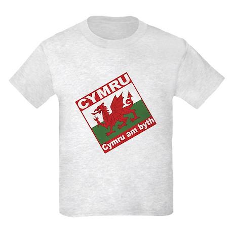 Cymru Kids Light T-Shirt