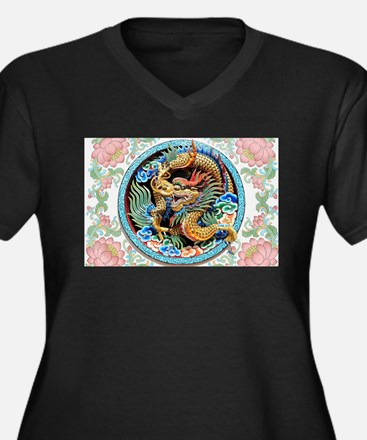cool,oriental,chinese,japanese,d Plus Size T-Shirt