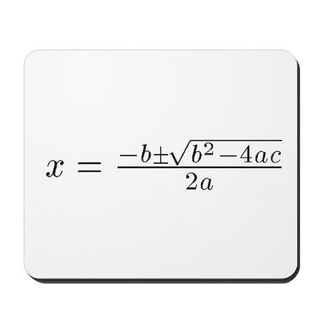 Quadratic Mousepad