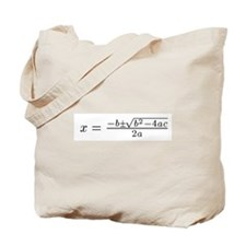 Quadratic Tote Bag
