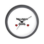 HOLLABACK GIRL Wall Clock