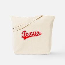 Retro Texas (Red) Tote Bag