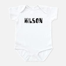 Wilson Faded (Black) Infant Bodysuit