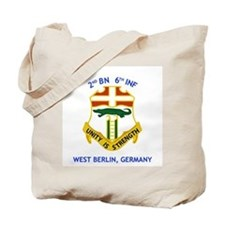 2nd BN 6th INF Gear Tote Bag