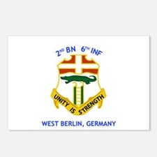 2nd BN 6th INF Gear Postcards (Package of 8)