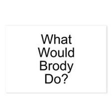 Brody Postcards (Package of 8)