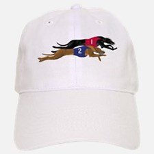Whippet Racing Baseball Baseball Cap
