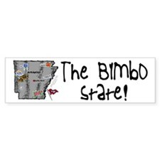 AR-Bimbo! Bumper Bumper Sticker