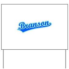 Retro Branson (Blue) Yard Sign