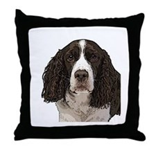 Springer Spaniel Throw Pillow