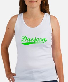 Vintage Daejeon (Green) Women's Tank Top