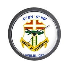 4th BN 6th INF Wall Clock