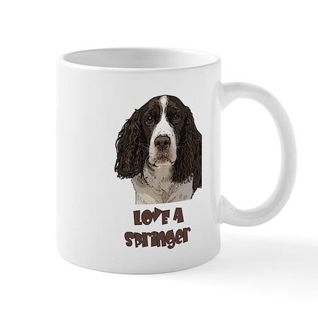 Love A Springer Mug